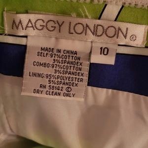 Maggy London Dresses - Maggy London strapless dress size 10